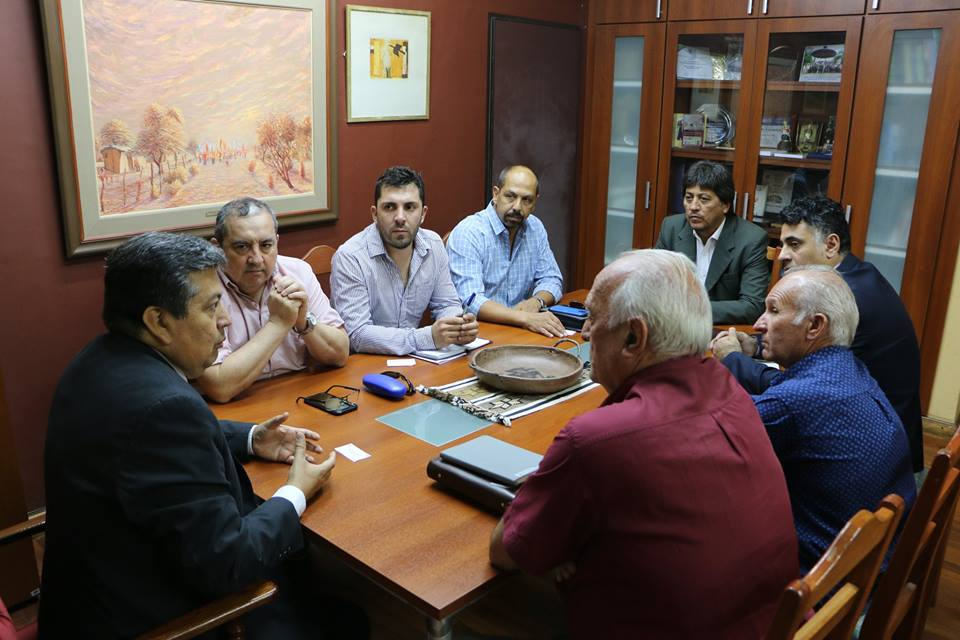 El Rector de la UNSE se reunió con el Intendente de Selva