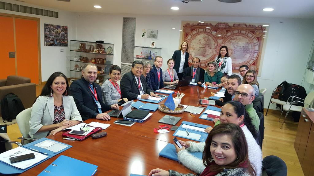 """Lanzamiento del Proyecto Erasmus+ """"TICs Cruz del Sur"""""""