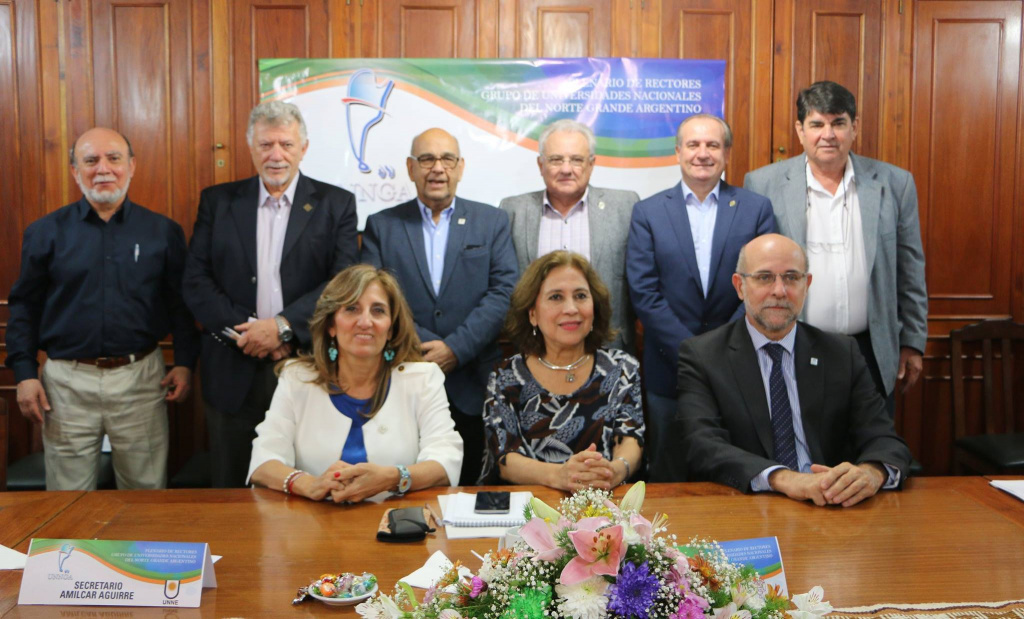 Reunión Plenaria de Rectores Grupo de Universidades Nacionales del Norte Grande Argentina