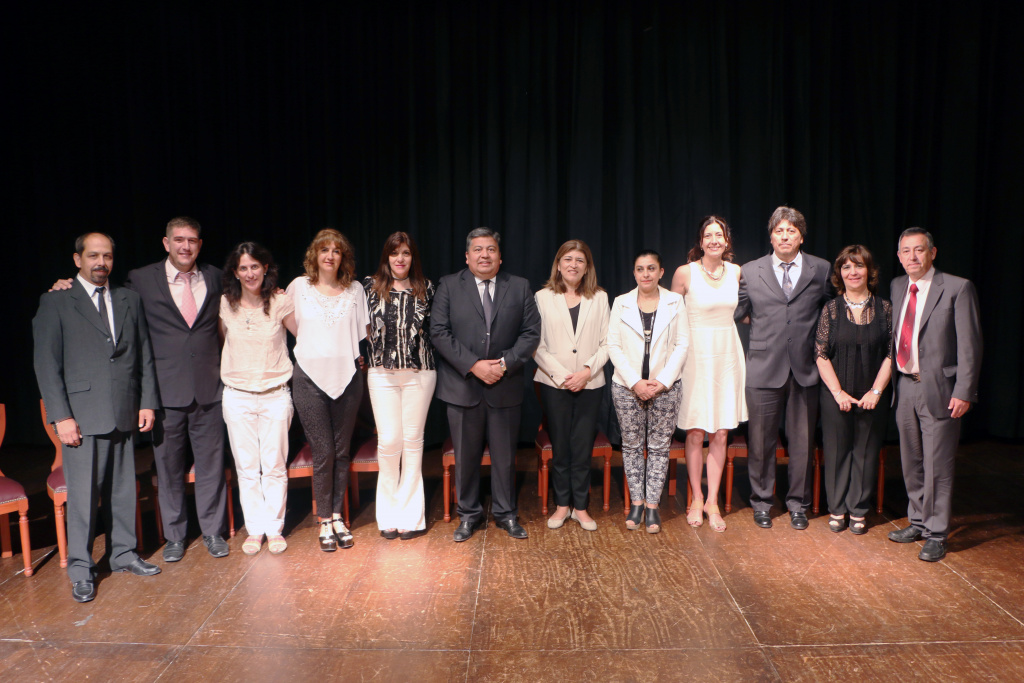 Acto de Asunción de los Secretarios del Rectorado