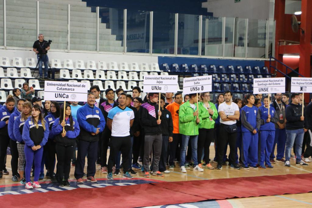 Apertura de los Juegos Universitarios Regionales NOA 2017