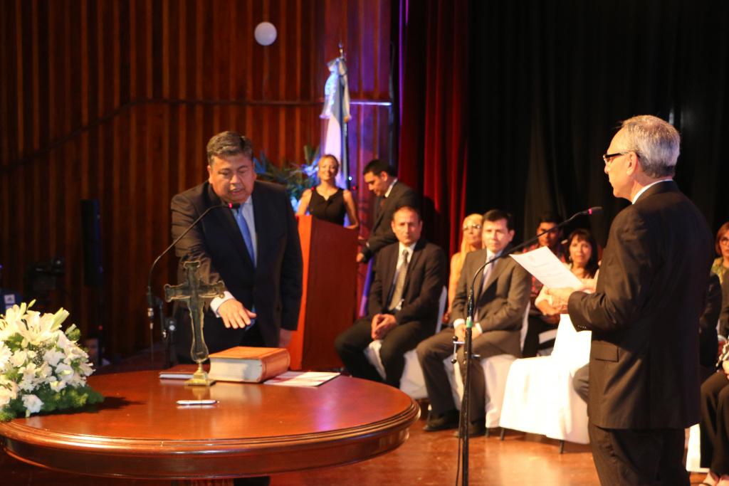 Acto de asunción de nuevas autoridades de la UNSE