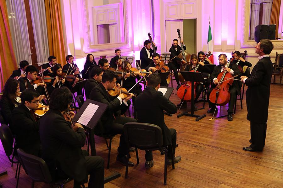 Reconocimiento a nuestra orquesta estable