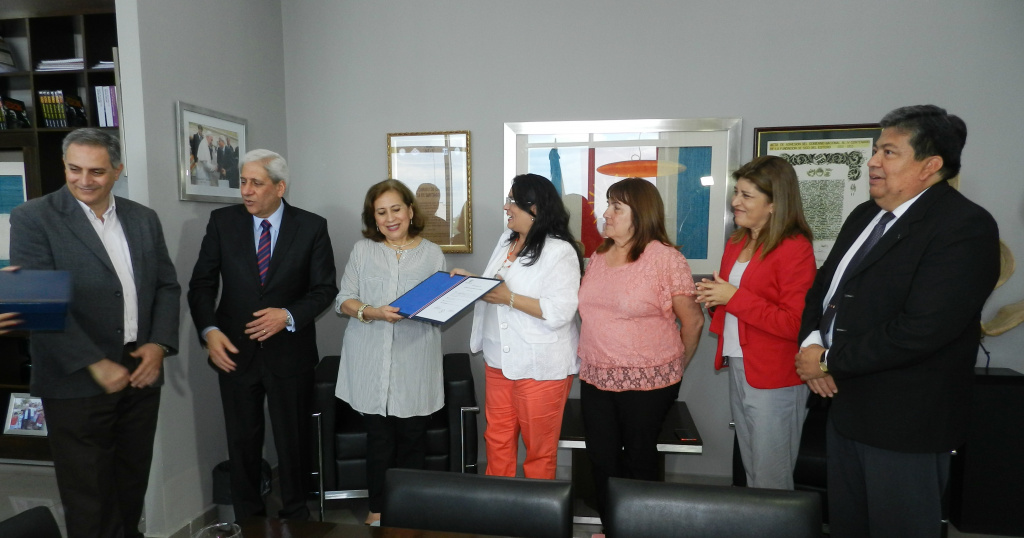 La Cámara de Diputados entregó reconocimiento a Natividad Nassif