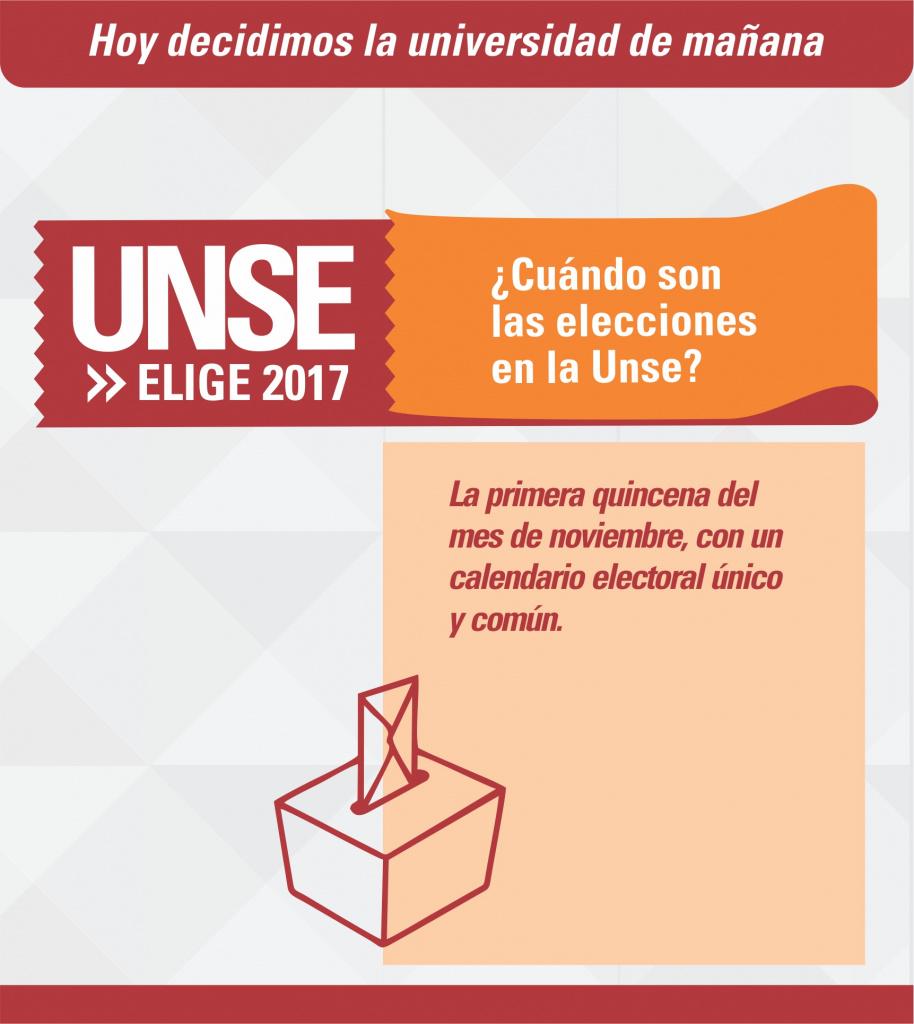 Elecciones 2017: Hoy decidimos la universidad de mañana