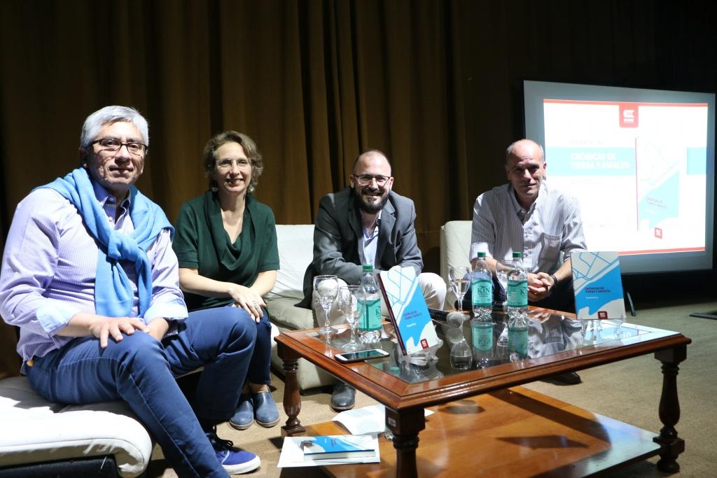 EDUNSE presentó el libro de crónicas de Ernesto Picco