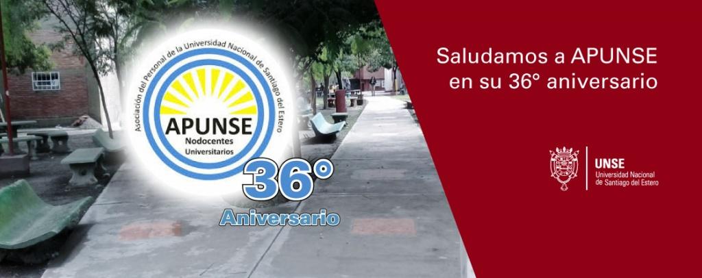 Felicidades APUNSE por su 36º aniversario