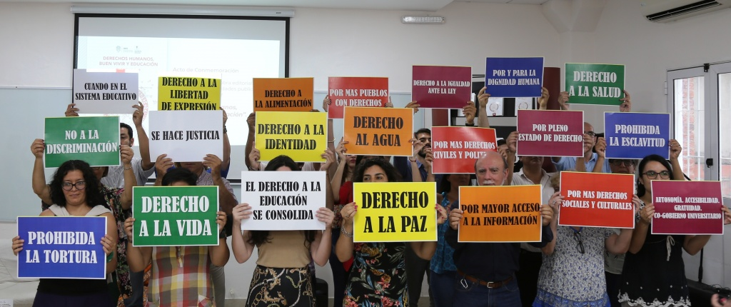 Acto por el Día Internacional de los Derechos Humanos