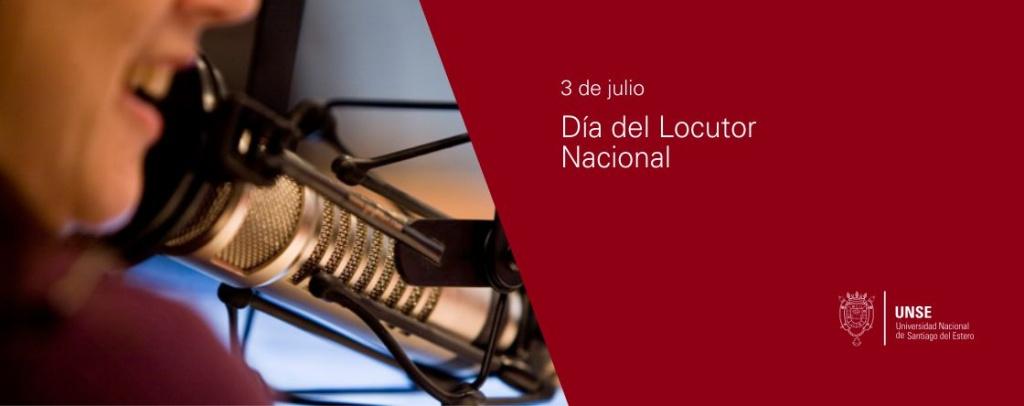 3 de julio - Día del Locutor Nacional