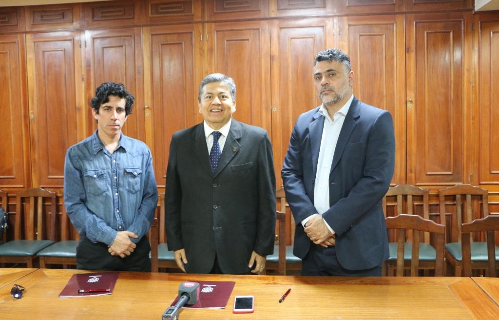 Firma de Convenio Interinstitucional entre el Comisionado Municipal de Matará y la UNSE