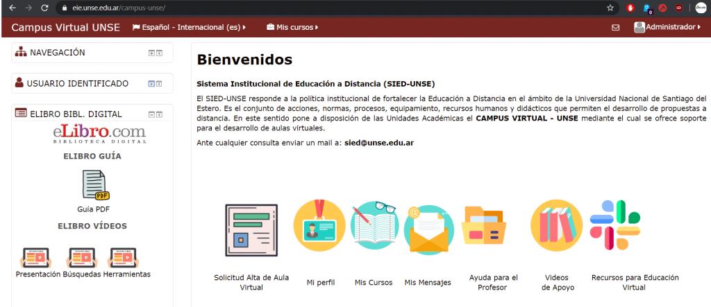 Usuarios del SIED UNSE tendrán acceso gratuito a la plataforma eLibro