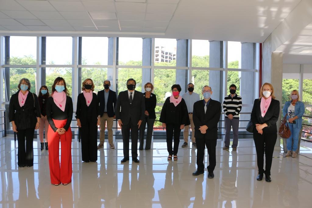 Rúbrica de convenios: UNSE-Fundación Mujer-FCM