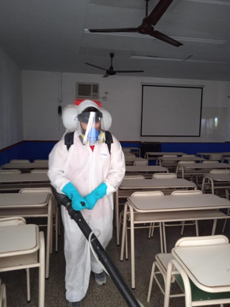 Nuevas tareas de fumigación en la UNSE