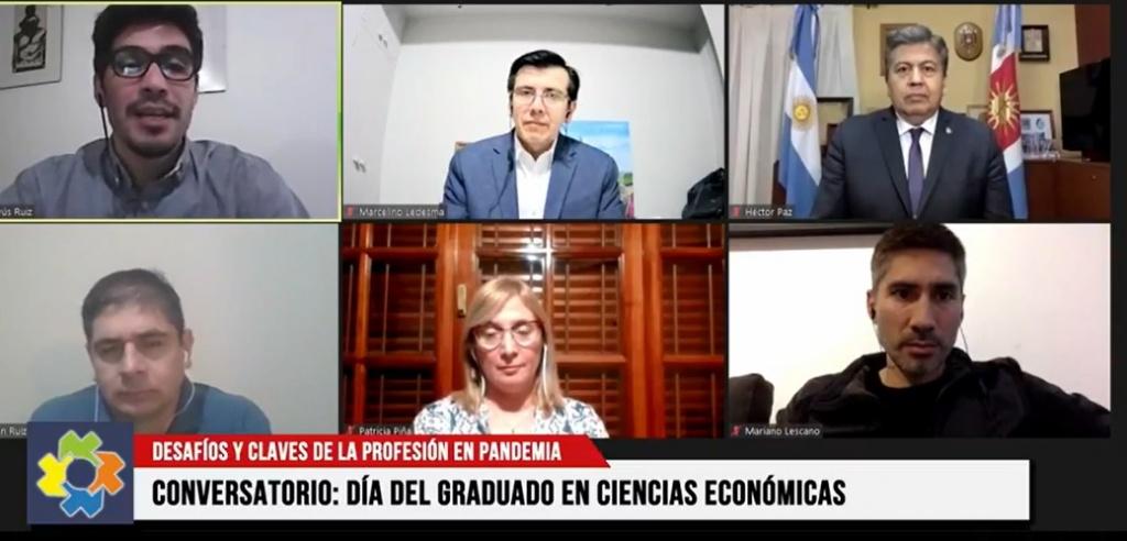 """Se llevó a cabo el Conversatorio """"Contexto profesional local, desafíos y claves de la profesión en Pandemia"""""""