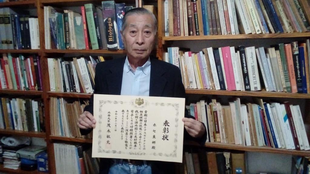 El Gobierno Japonés reconoció al Dr. José Togo con el