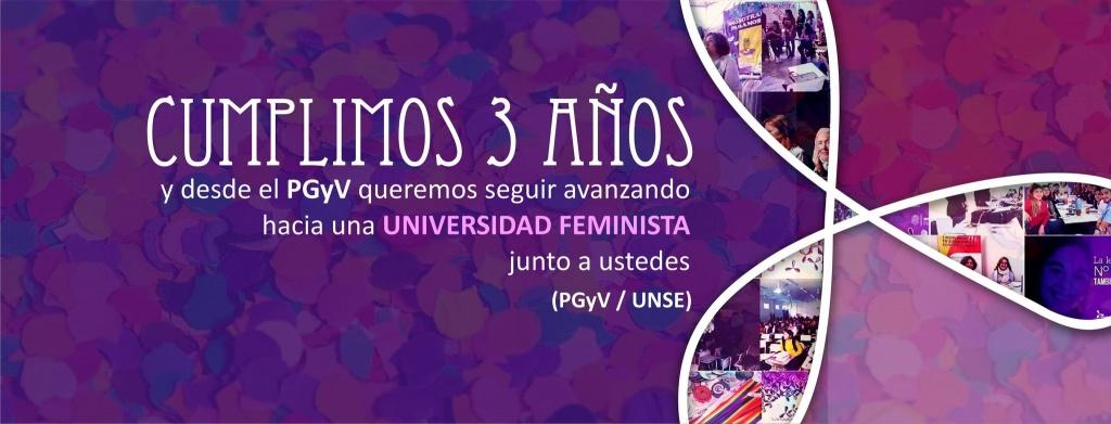 El Programa Géneros y Violencias de la Unse celebró un nuevo aniversario