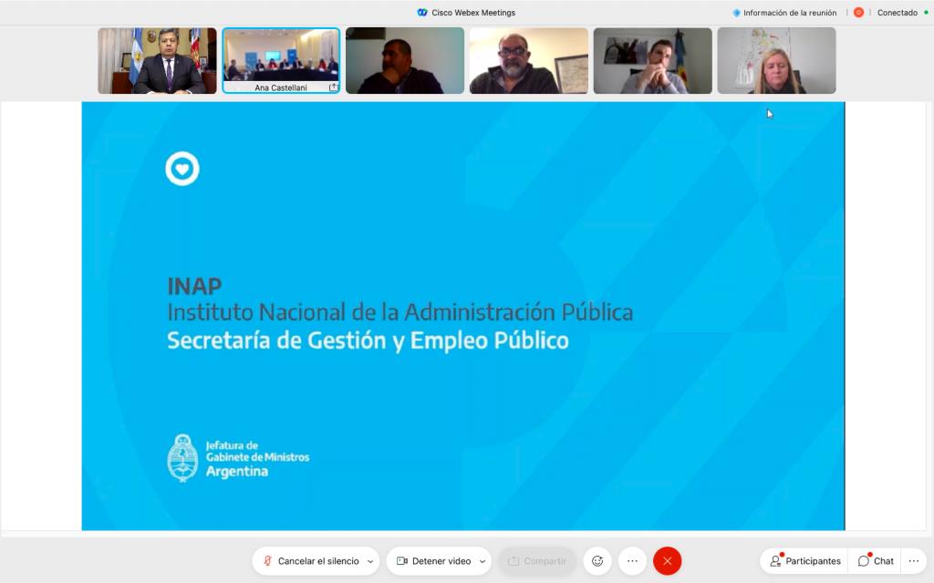 Presentan el Plan Federal de Formación y Capacitación en Gestión Pública 2021 con participación de la UNSE