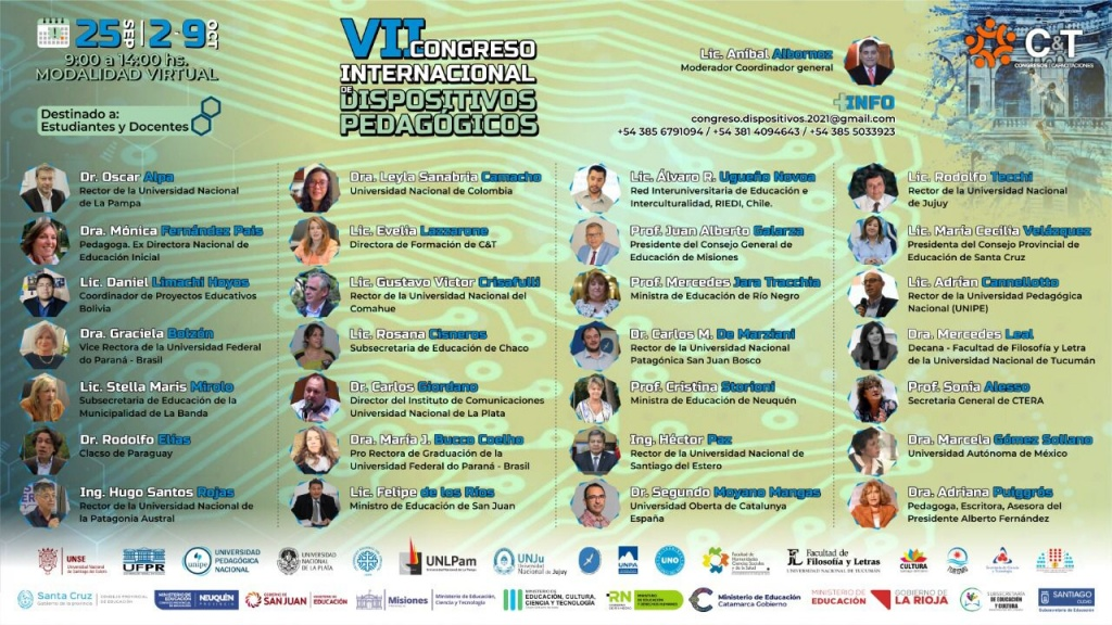 "VII CONGRESO INTERNACONAL DE DISPOSITIVOS PEDAGÓGICOS: ""EDUCAR PARA TRANSFORMAR: Un desafío constante"""