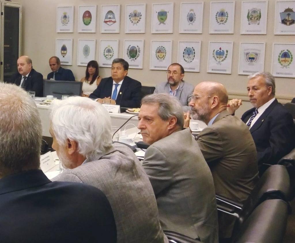 El Ing. Héctor Paz participó de la Reunión Plenaria del Consejo de Universidades