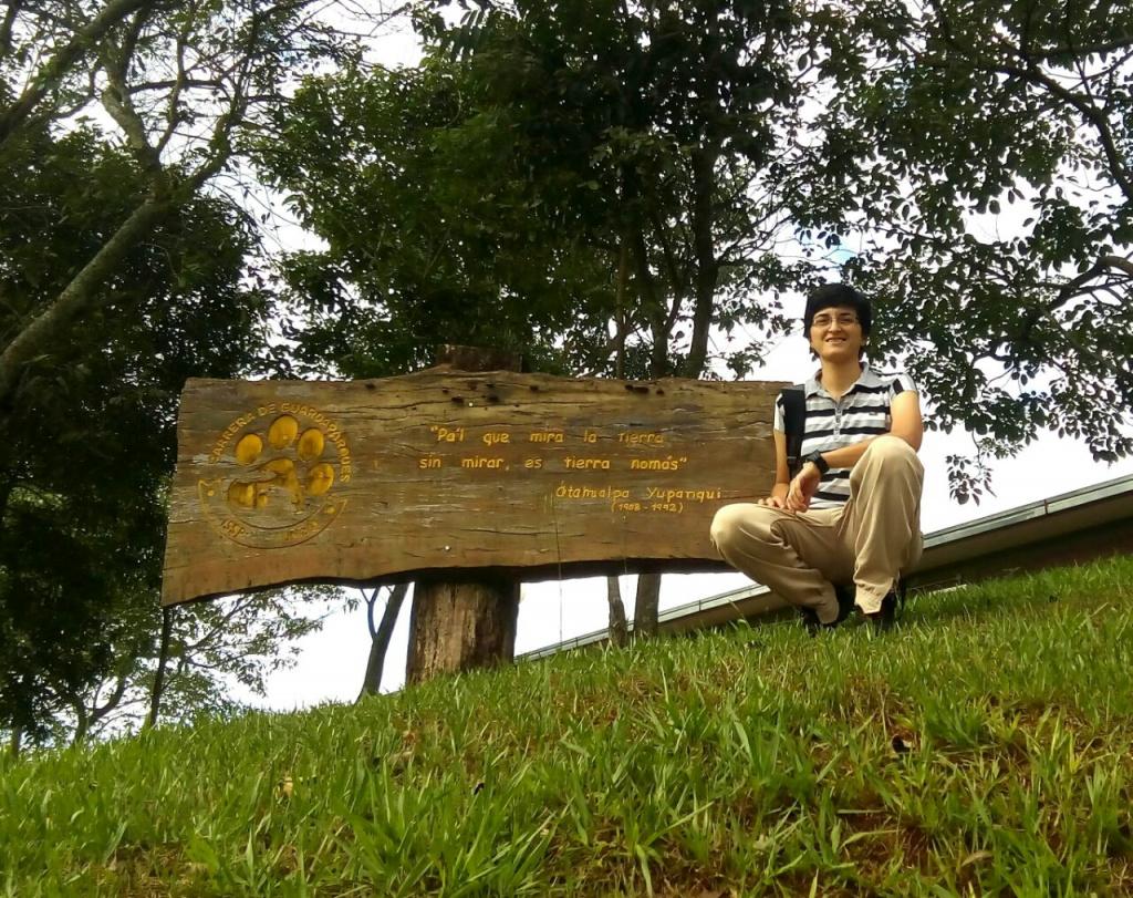 GRADUADOS UNSE: Ingeniería Forestal Cyntia  Brandán