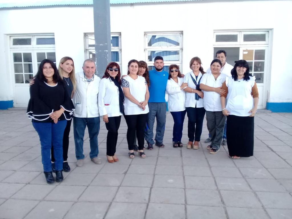 Escuela Nº 843 jornada  completa, de localidad de los Núñez