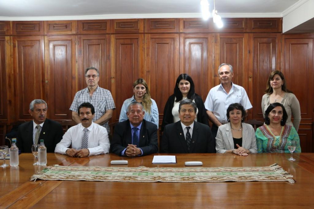 Delegación de la Universidad Nacional de Cajamarca, Perú en la UNSE