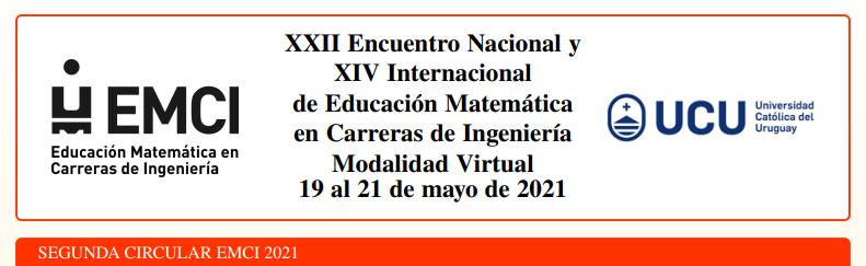 XXII Encuentro Nacional y XIV Internacional de Educación Matemática en Carreras de Ingeniería