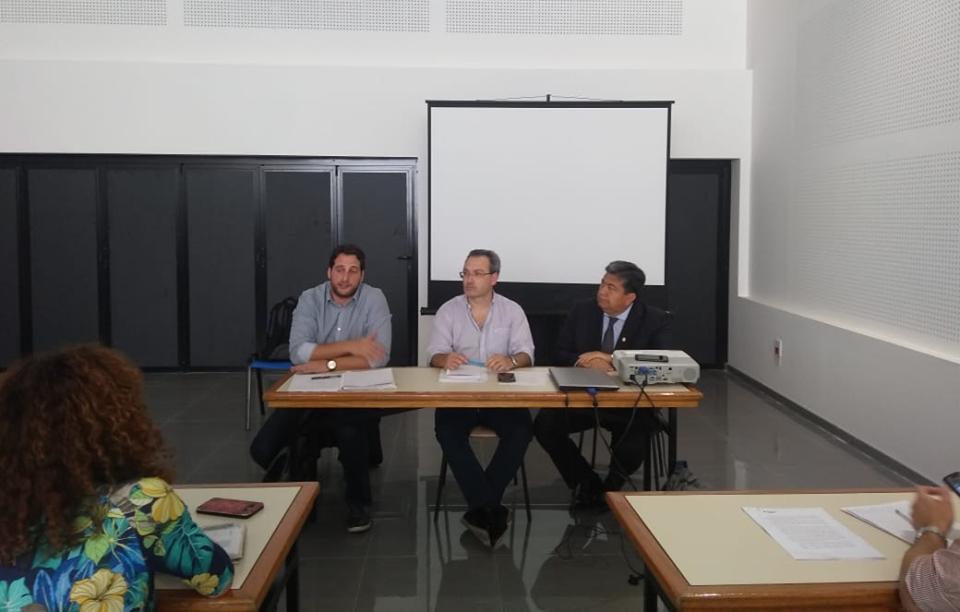 El Rector de la UNSE participó del Plenario de la Red Nacional de Extensión Universitaria