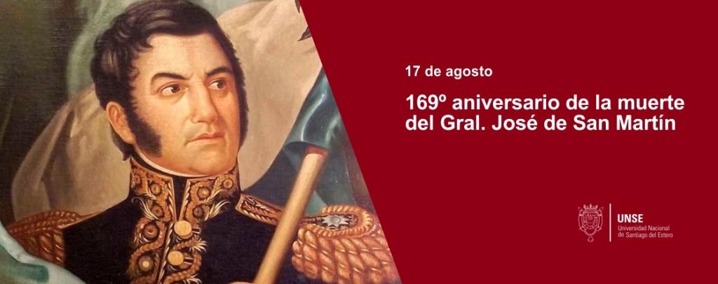 169° Aniversario del fallecimiento del Gral. José de San Martín