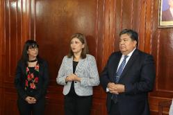 Asunción de Subsecretaria de Comunicaciones Lic. Gabriela Moyano